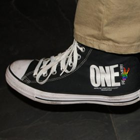 One Party with Pride Tennis Shoe